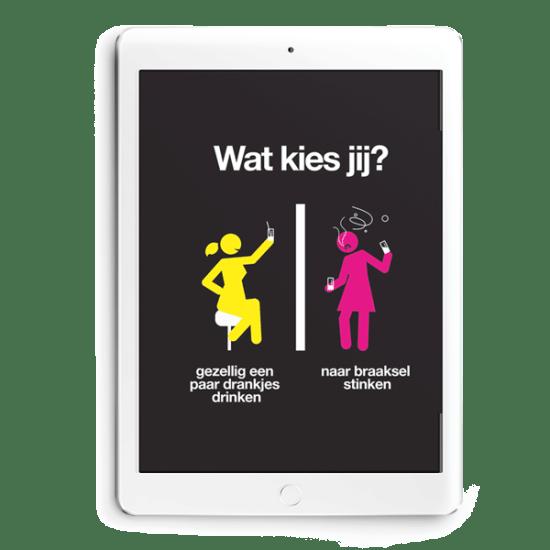 GGD wat kies jij campagne op iPad