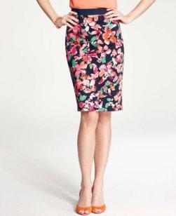 Wild Blooms Skirt Ann Taylor, $88