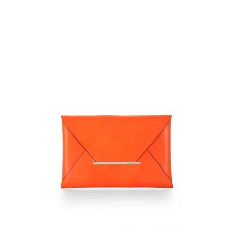 Harlow Leather Envelop Clutch BCBG, $148