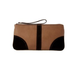 Scalloped Suede Pouch Loft, $29.50