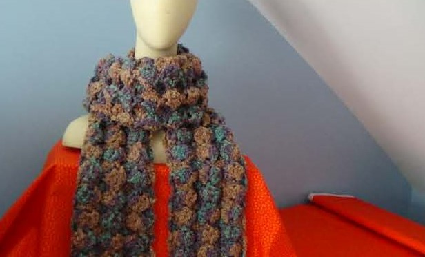 Puff Shell Scarf Instructions Creative Grandma