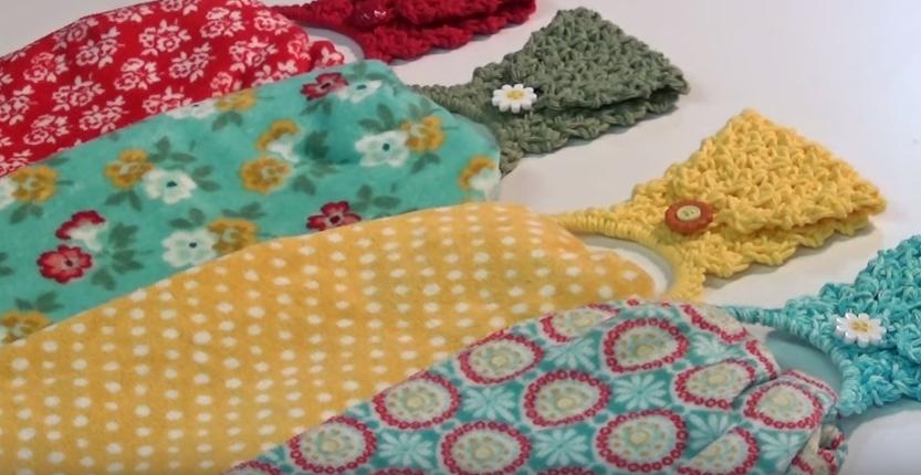 No Sew Towel Topper 115 Instructions Creative Grandma