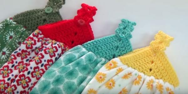 Crochet Towel Topper Instructions Creative Grandma