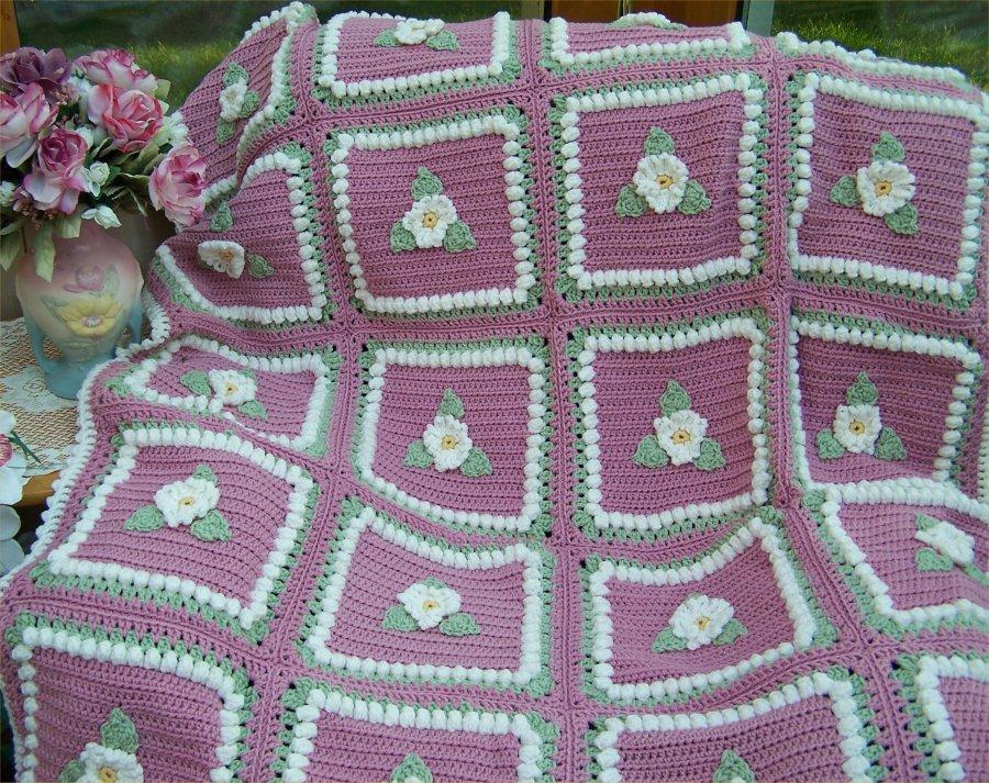 #501 Daisy Afghan pic