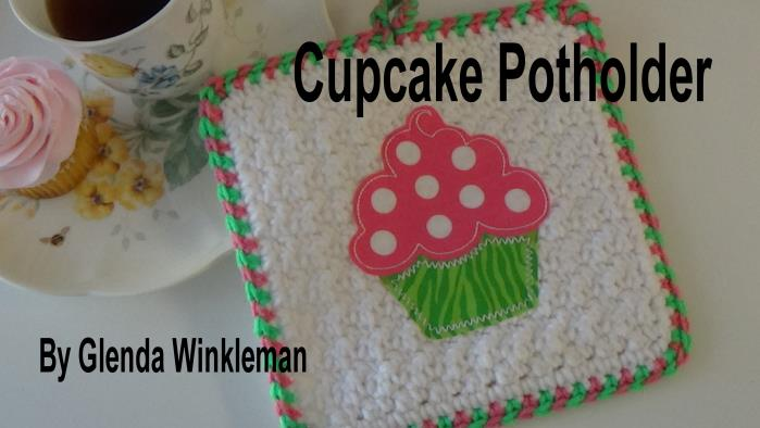 CG #122-1 Cupcake Potholder pic