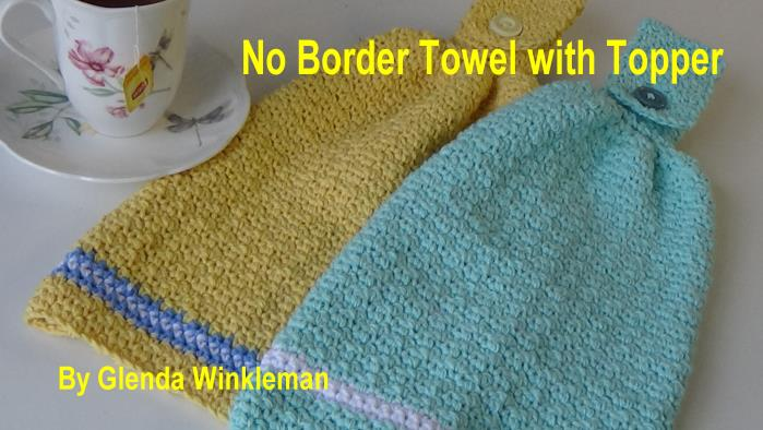 CG #128 No Border Towel with Topper