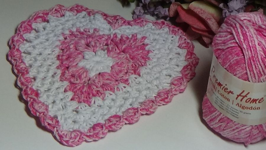 Pink Flamingo Heart