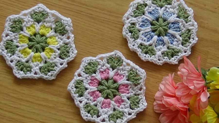 Floral Lace Coaster