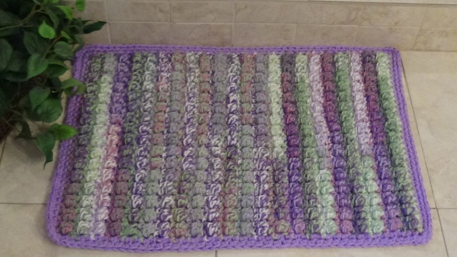 # 701 Springtime bath Mat Rug