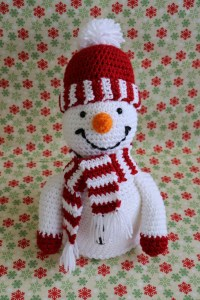 thumbnail_# 560 Snowman Toilet paper cover photo