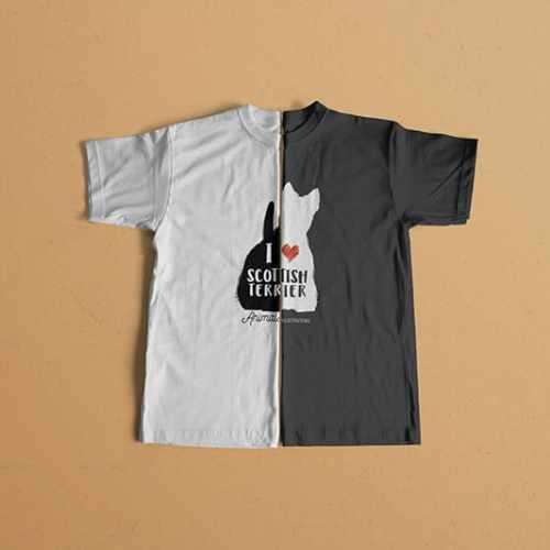 Camisetas Scottish Terrier