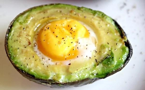 Best Breakfast Baked Avocado Eggs Recipe