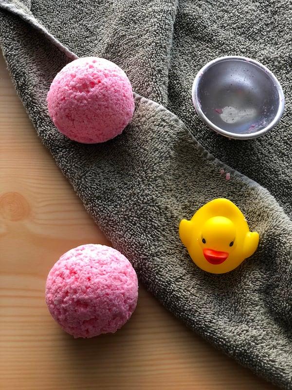 How To Make Detox Bath Bombs For Kids