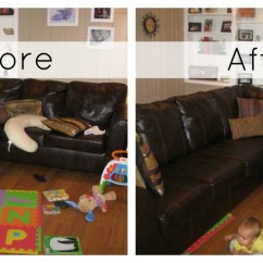 Sofa Versus Couch White Faux Leather Cleaner 10 Things I Do Every Day To Keep A Clean And Organized ...