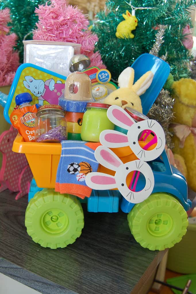 easter basket truck