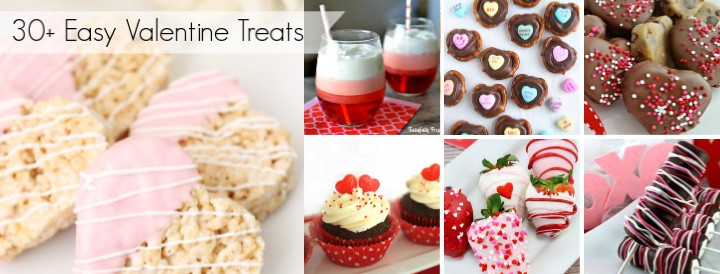 30+ Easy Valentine Treats