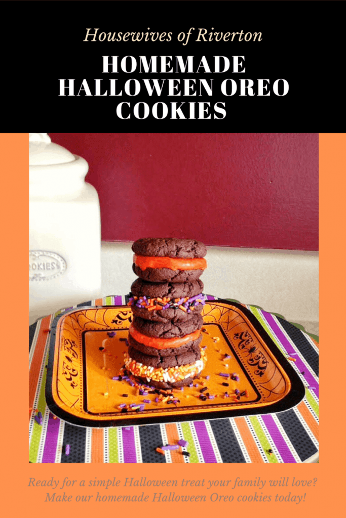 Halloween Homemade Oreo Cookies