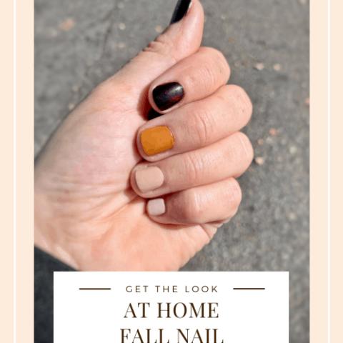 Fall Nail Manicure