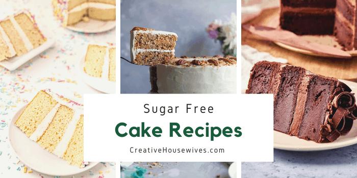 Sugar Free Cake Recipe - Round Up