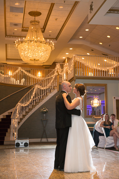 Beautiful full length first dance Mendenhall Grand Ballroom