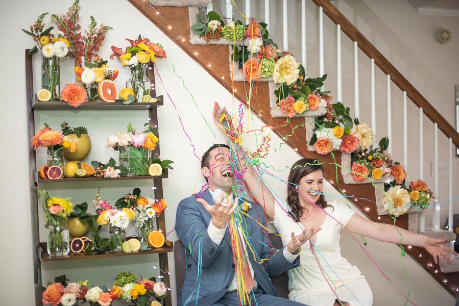Intimate Delaware wedding celebration