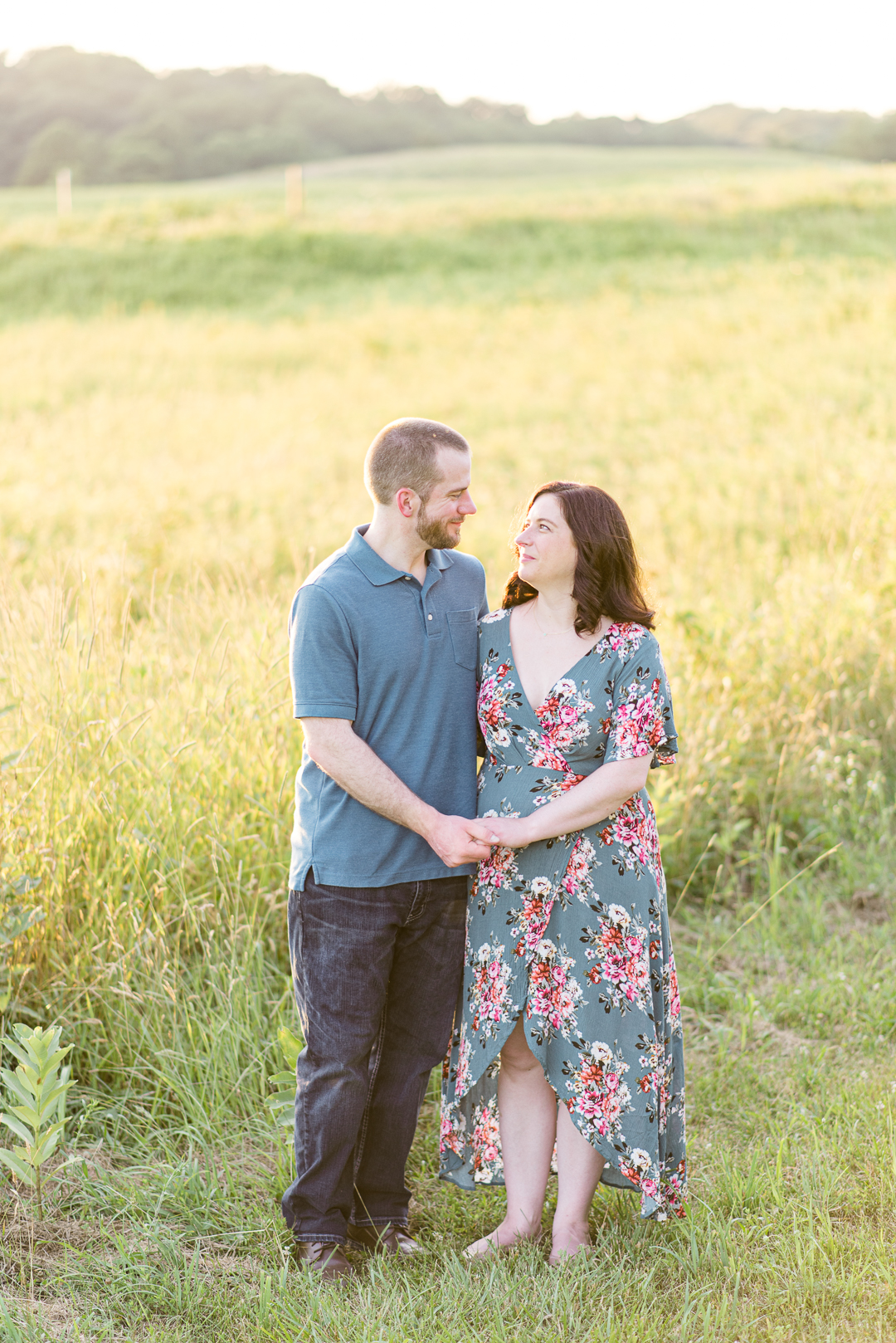 Delaware engagement session at State Park