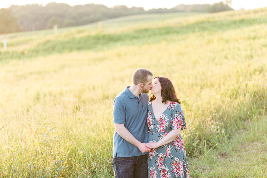 Engagement session at Brandywine Creek State Park