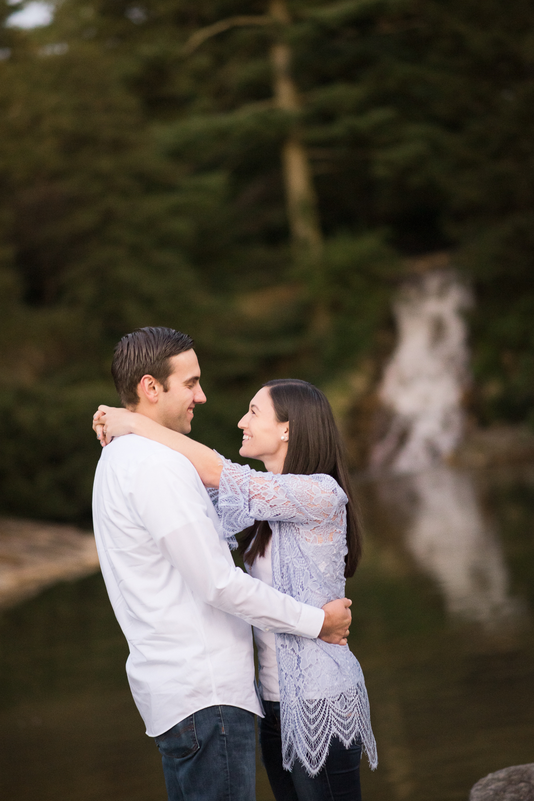 Longwood Engagement picture