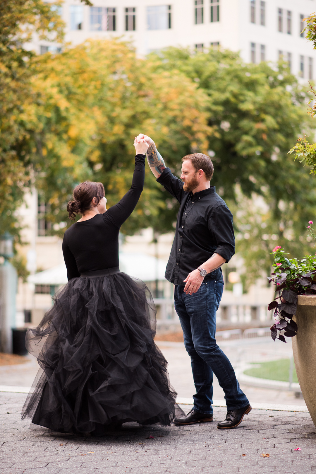 Downtown Wilmington Engagement Session