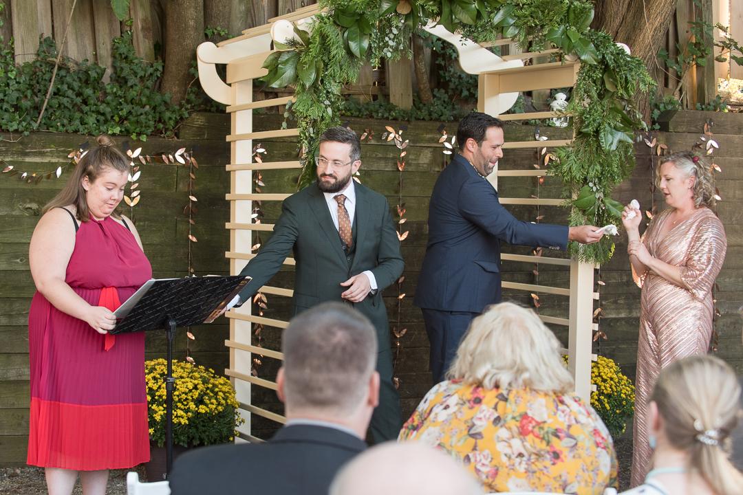 Small Delaware Wedding