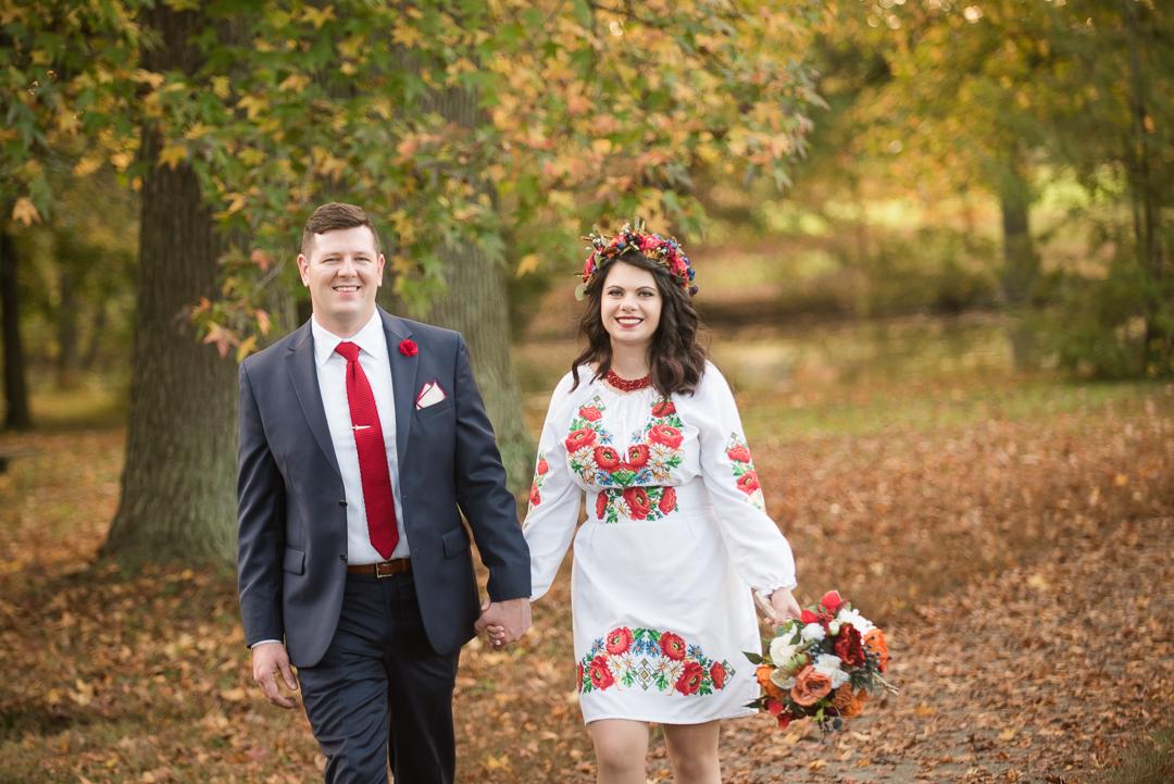Fall wedding Bellevue