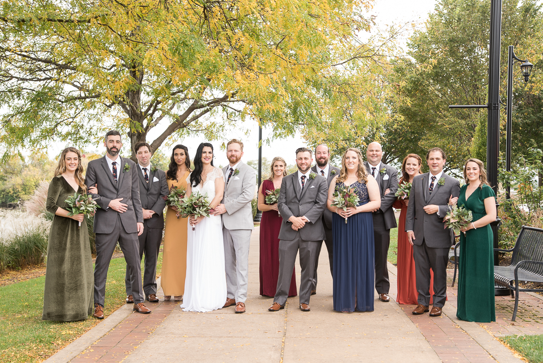 Riverfront Events Wedding Party