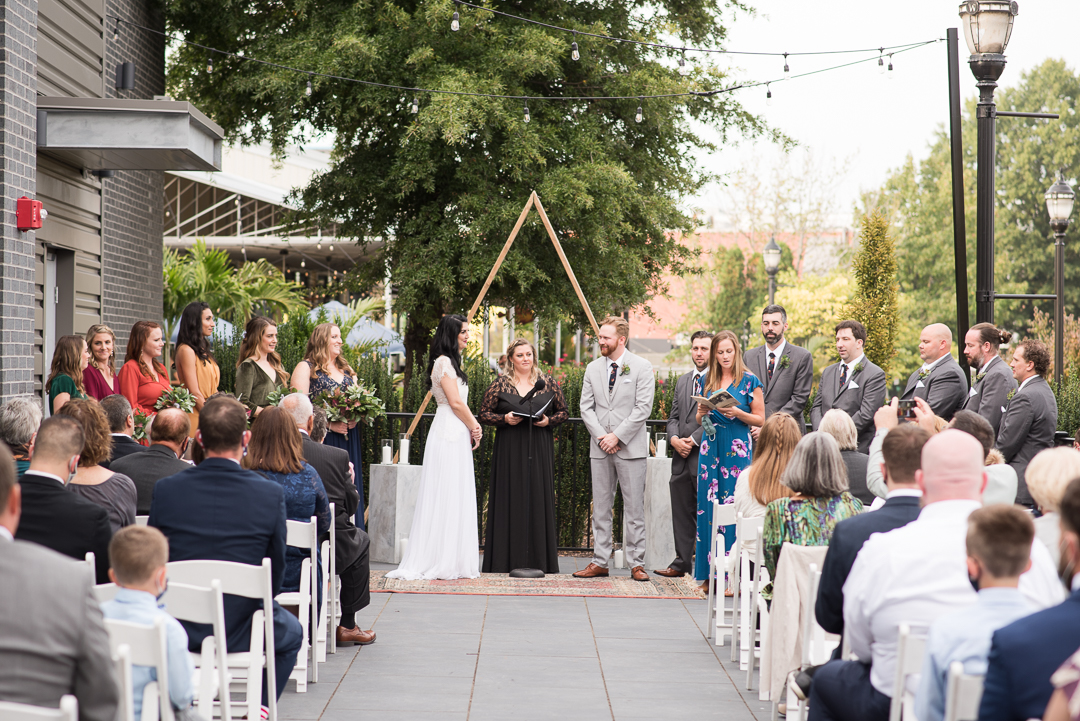 Riverfront Events Wedding Ceremony