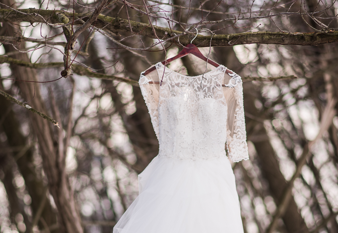 Prancing Deer Farm Winter Wedding