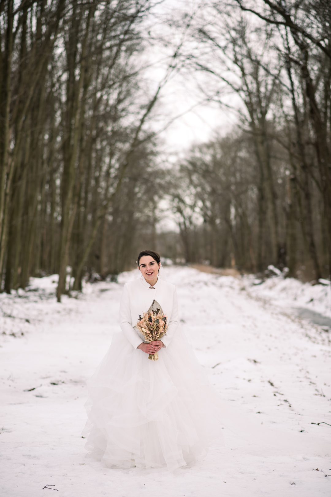 Prancing Deer Winter Wedding