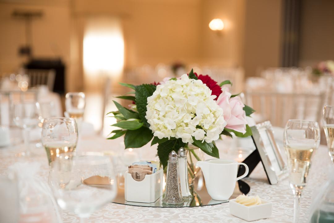 May wedding florals