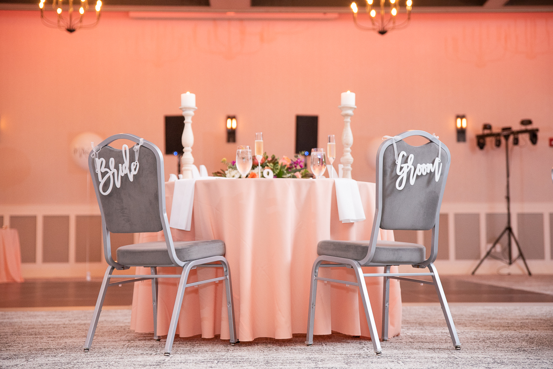Riverfront Events Sweetheart table