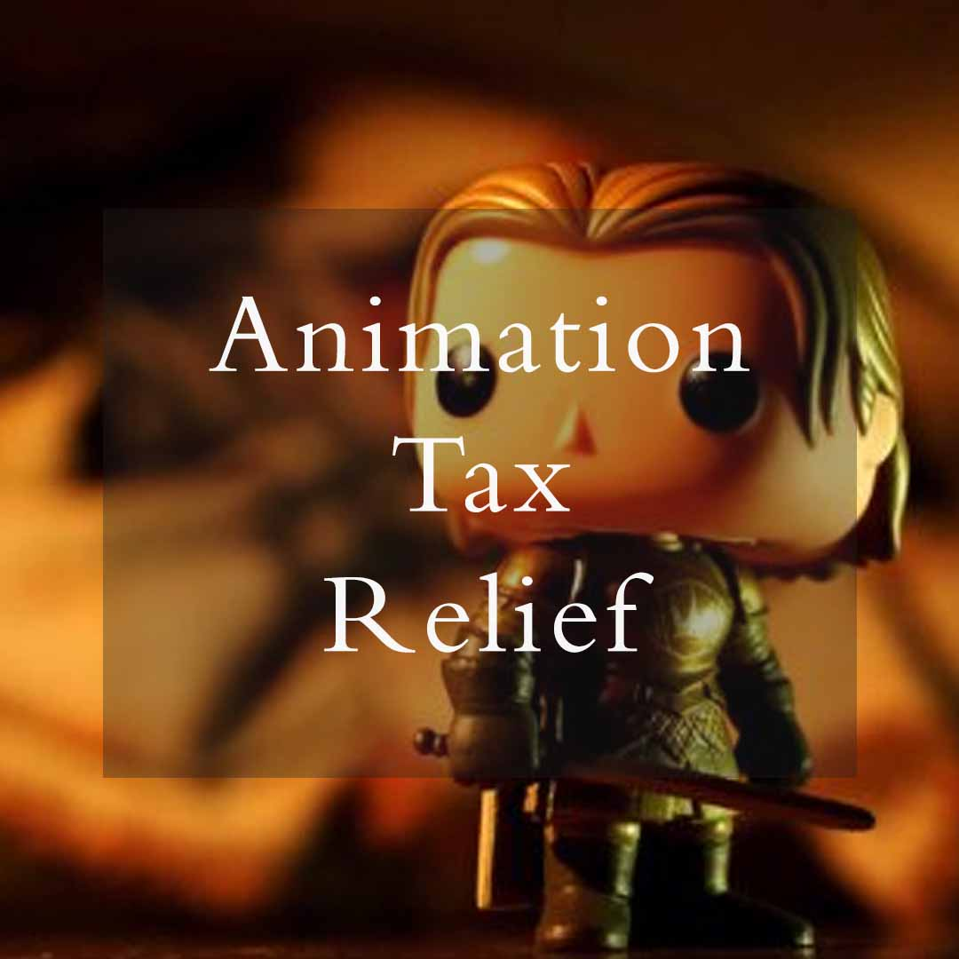 Animation Tax Relief