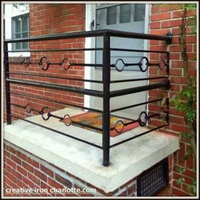 Creative Iron Designs | Black Iron Pipe Handrail | Cast Iron | Horizontal Pipe | Paint Pipe | Stair Outdoor Decatur | Railing Aluminium Pipe