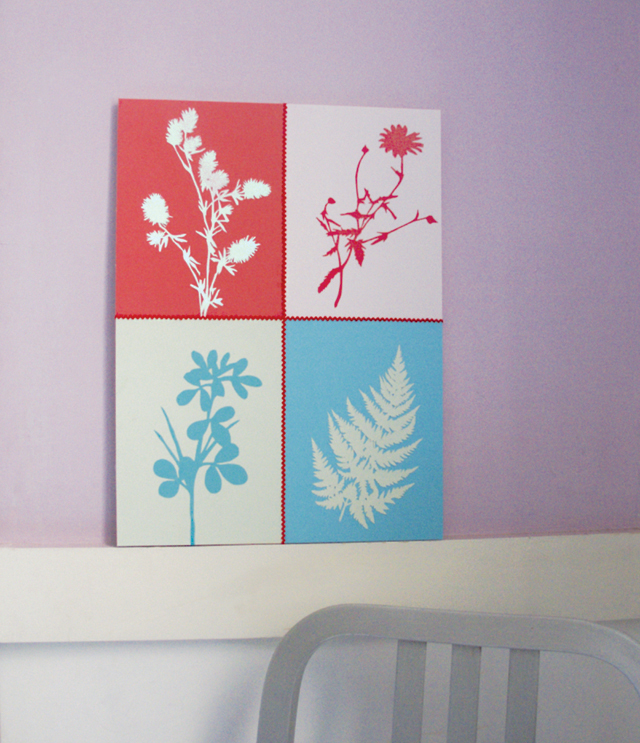 cut paper silhouettes from nature fresh artwork for spring