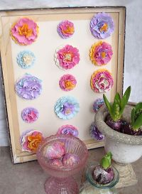DIY Paper Flower Wall Art For Spring - creative jewish mom