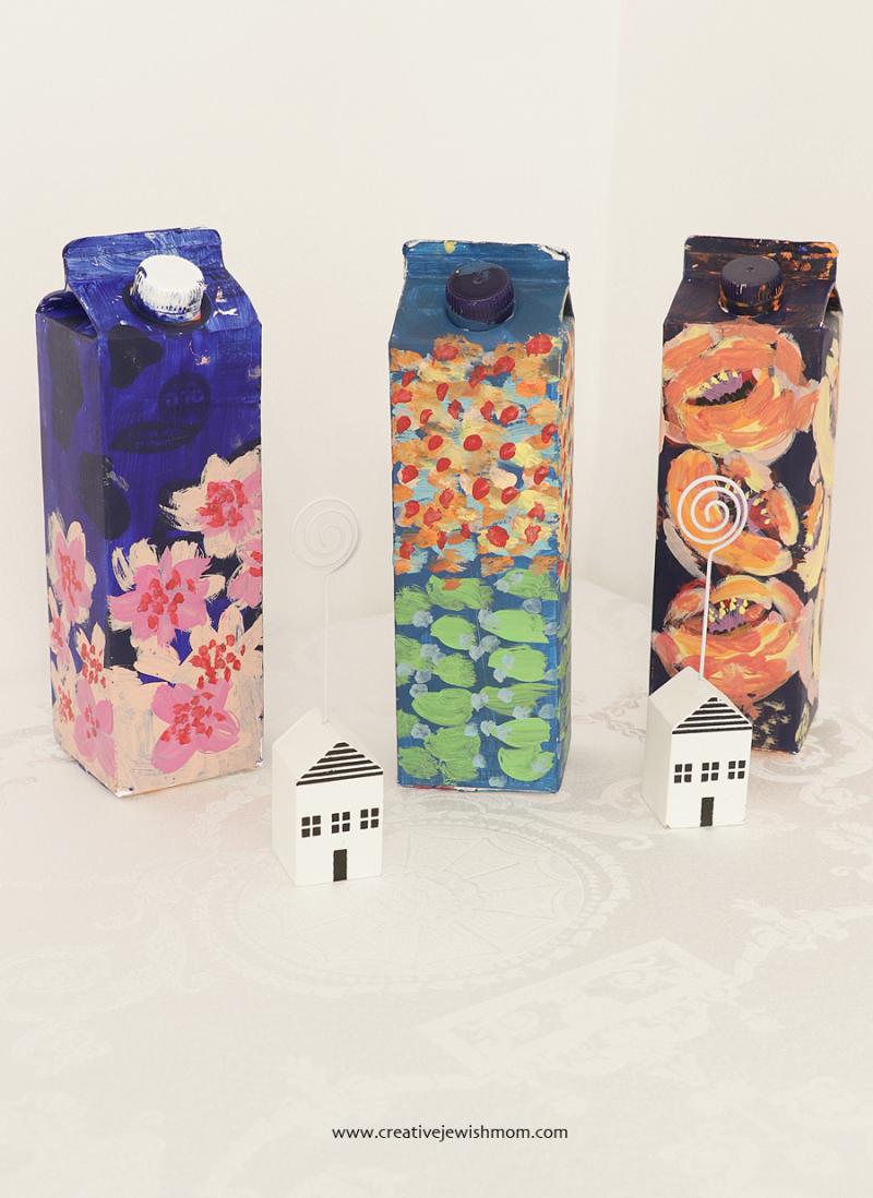 Best Paint For Cardboard : paint, cardboard, Paint, Garden, Carton, Craft, Creative, Jewish