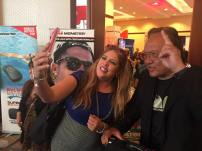 Social Monster Lizza XOXO with CEO/Founder of Monster Products, Noel Lee