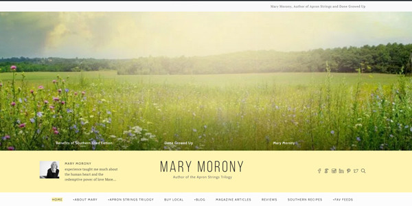 Mary Morony Southern Novelist