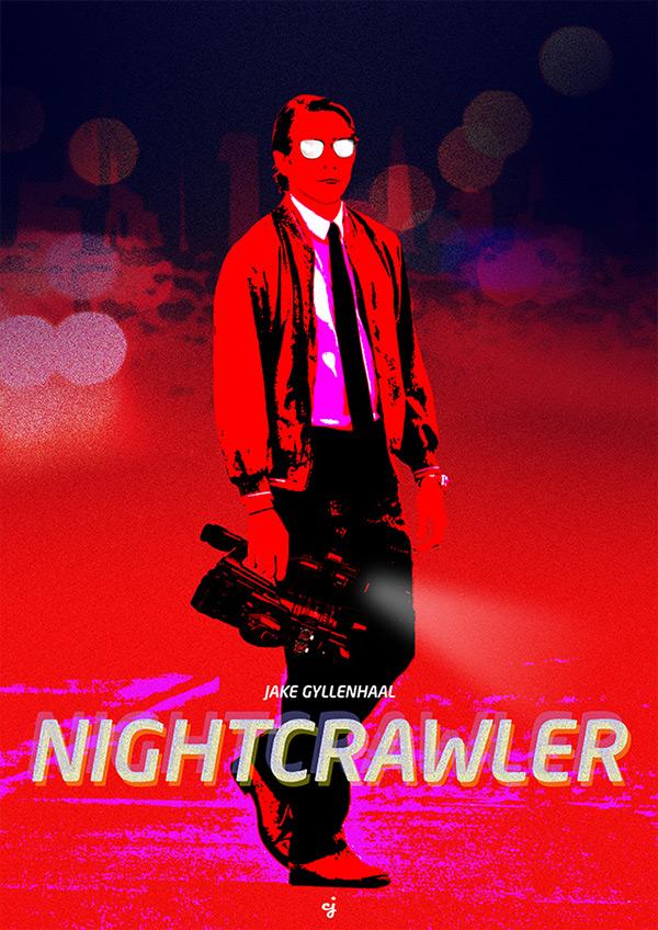 Nightcrawler poster design