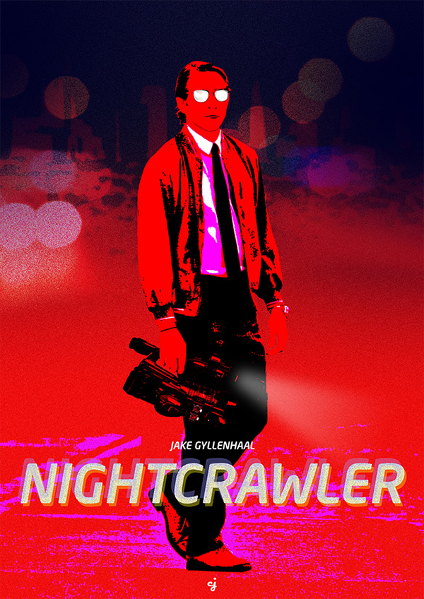 Nightcrawler poster design