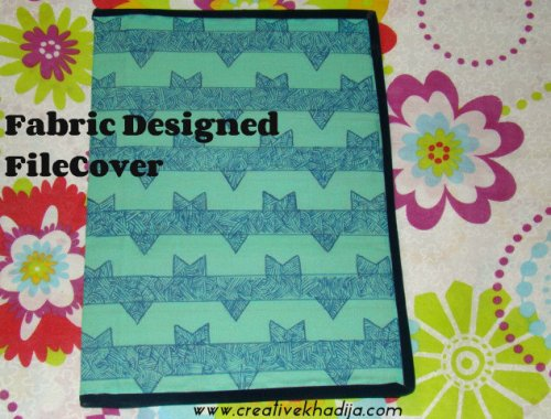 Fabric Designed FileCover
