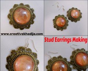 Stud Earrings Making