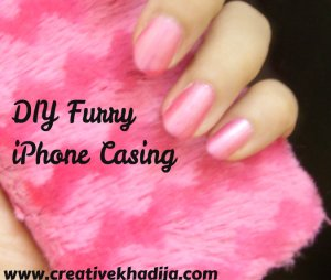 diy furr iphone casings