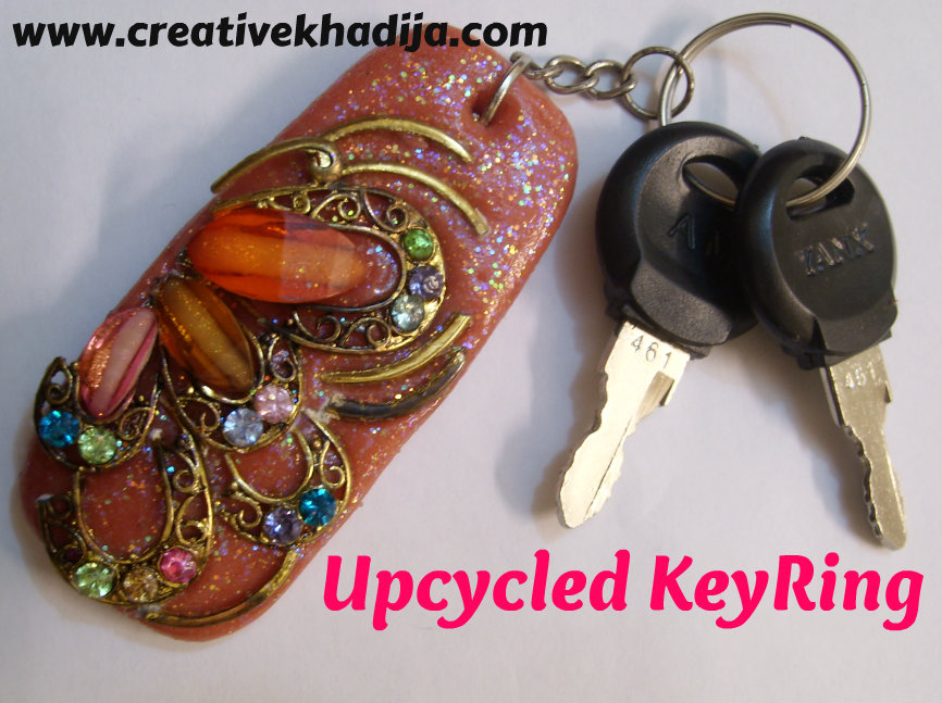 DIY keyring idea